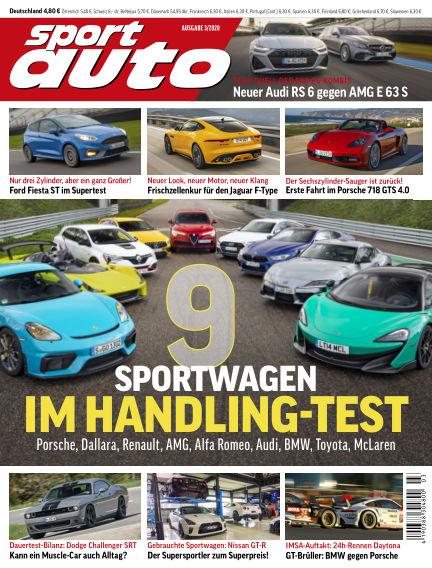 sport auto February 20, 2020 00:00