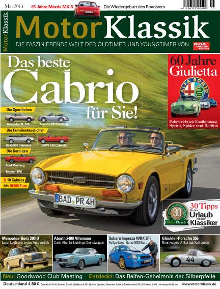 Motor Klassik April 16, 2014 00:00