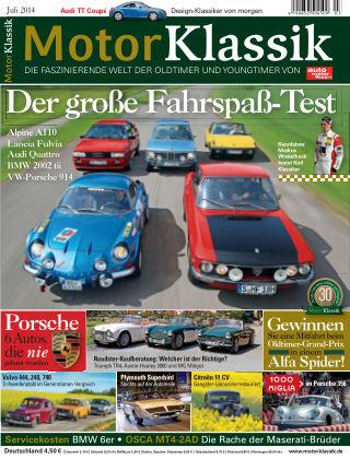 Motor Klassik 07/2014