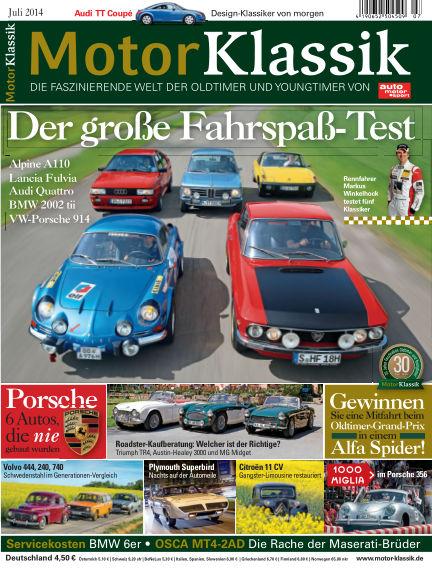 Motor Klassik June 11, 2014 00:00