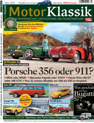 Motor Klassik 03/2014