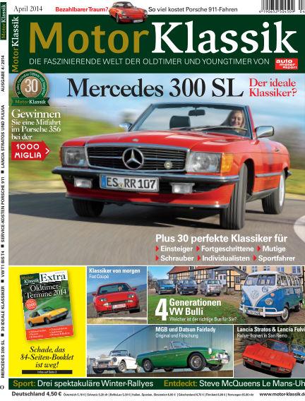 Motor Klassik March 12, 2014 00:00
