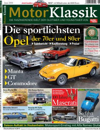 Motor Klassik 06/2014