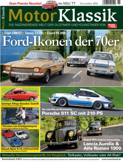 Motor Klassik October 15, 2014 00:00