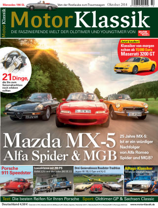 Motor Klassik 10/2014