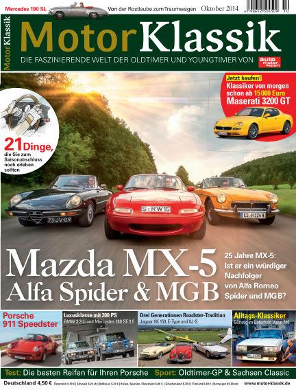 Motor Klassik September 17, 2014 00:00