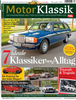 Motor Klassik 12/2014