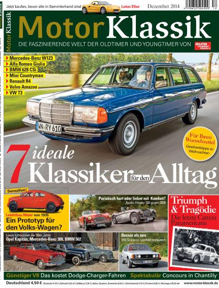 Motor Klassik November 12, 2014 00:00