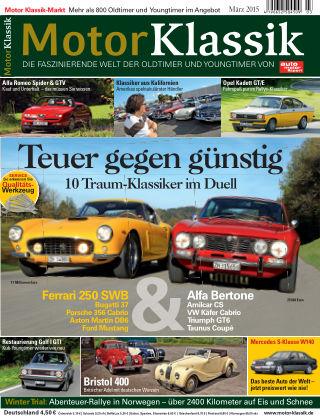 Motor Klassik 03/2015