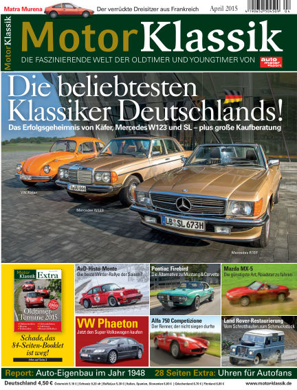 Motor Klassik March 11, 2015 00:00