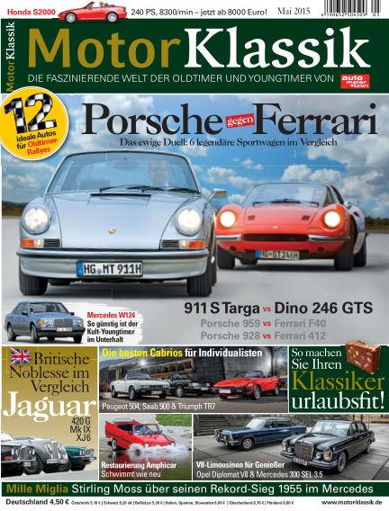 Motor Klassik April 15, 2015 00:00