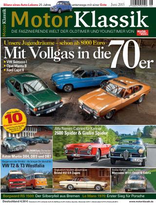 Motor Klassik 06/2015