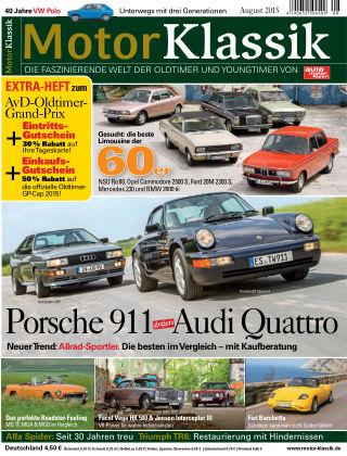 Motor Klassik 08/2015
