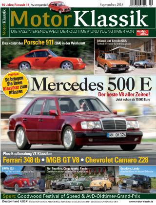 Motor Klassik 09/2015