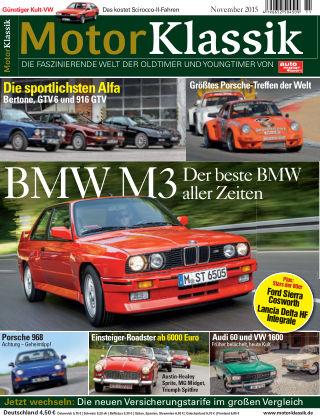 Motor Klassik 11/2015