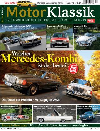 Motor Klassik 12/2015