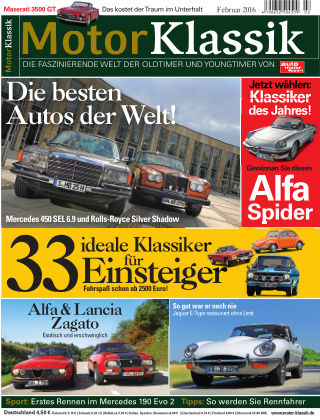 Motor Klassik 02/2016