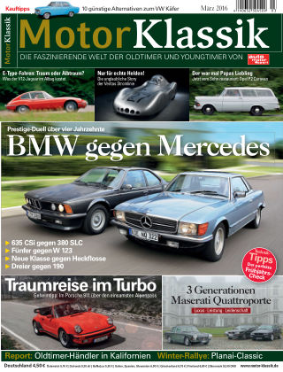 Motor Klassik 03/2016