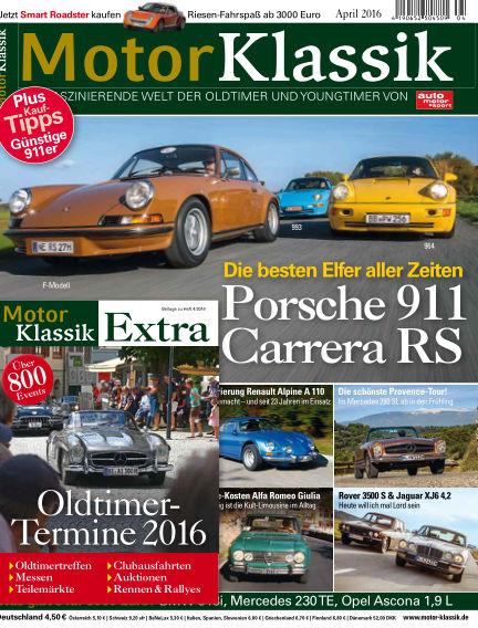 Motor Klassik March 09, 2016 00:00