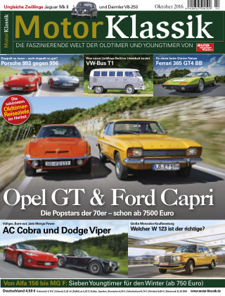 Motor Klassik 10/2016
