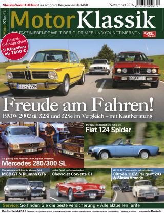 Motor Klassik 11/2016
