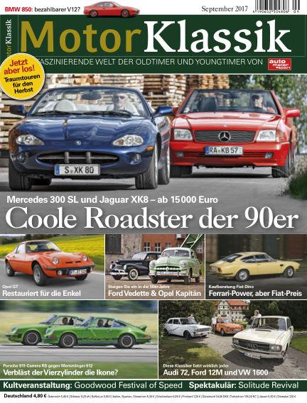Motor Klassik August 16, 2017 00:00