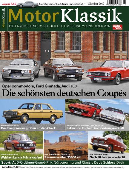 Motor Klassik September 13, 2017 00:00