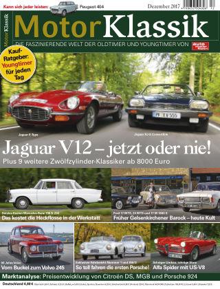 Motor Klassik 12/2017