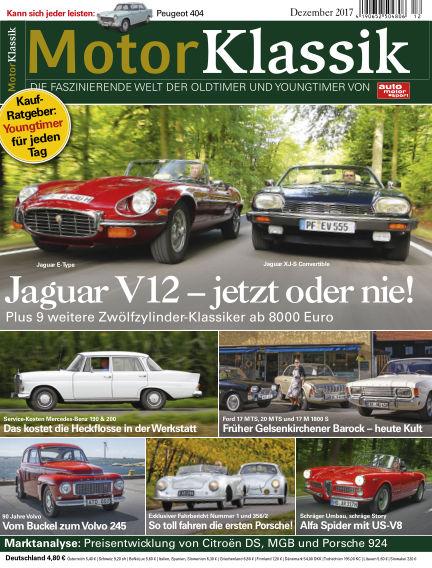 Motor Klassik November 08, 2017 00:00