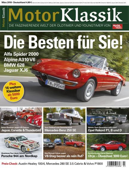 Motor Klassik February 07, 2018 00:00