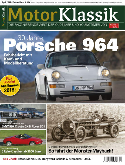 Motor Klassik March 07, 2018 00:00