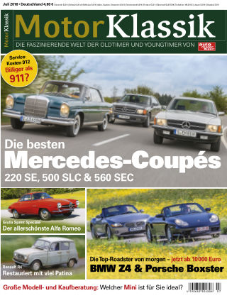 Motor Klassik 07/2018