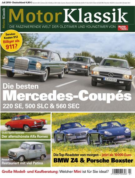 Motor Klassik June 06, 2018 00:00