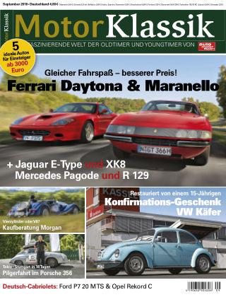 Motor Klassik 09/2018