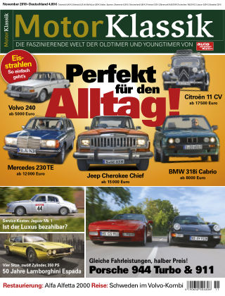 Motor Klassik 11/2018