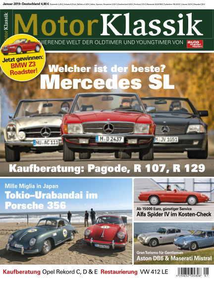 Motor Klassik December 12, 2018 00:00