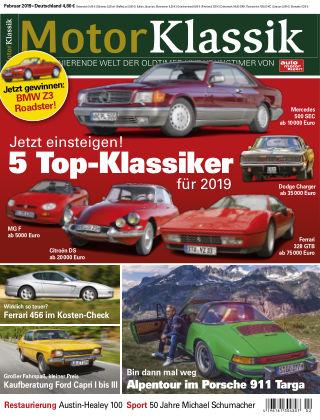 Motor Klassik 02/2019