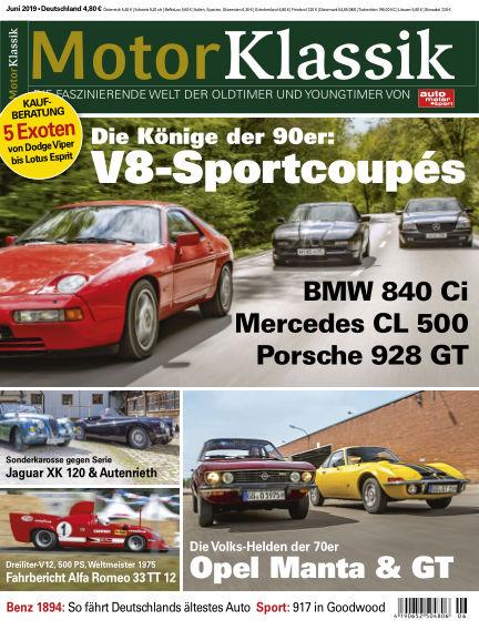 Motor Klassik May 14, 2019 00:00