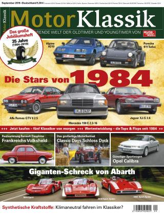 Motor Klassik 09 2019