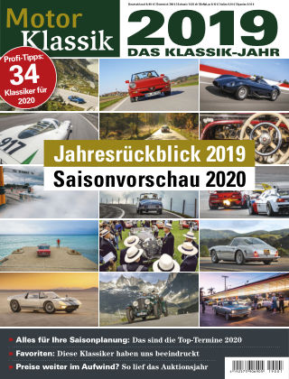 Motor Klassik 01 2019