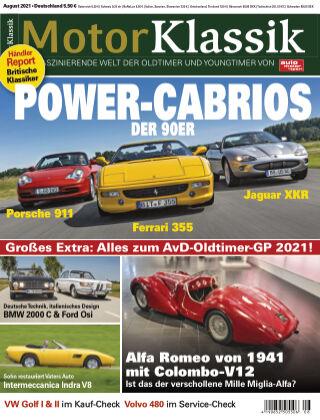 Motor Klassik 08 2021