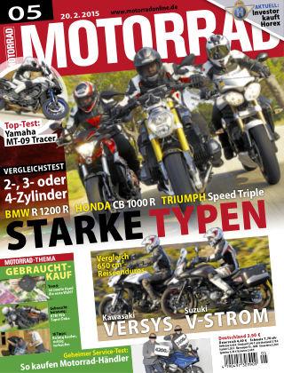 MOTORRAD 05/2015