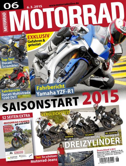 MOTORRAD March 06, 2015 00:00