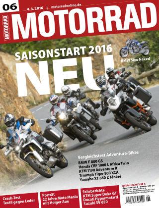MOTORRAD 6/2016