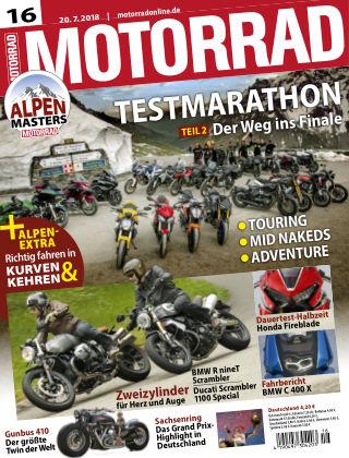 MOTORRAD 16/2018