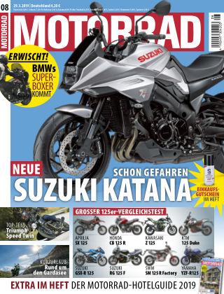 MOTORRAD 08 2019