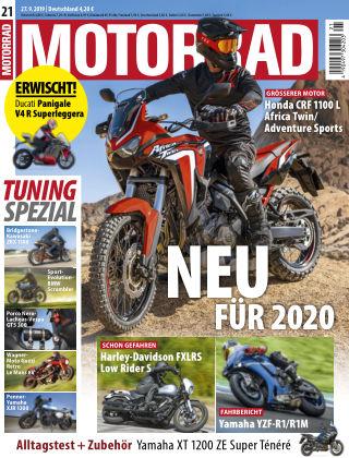MOTORRAD 21 2019