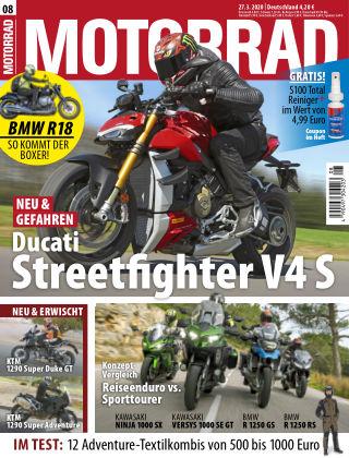 MOTORRAD 08 2020