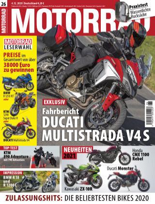 MOTORRAD 26 2020
