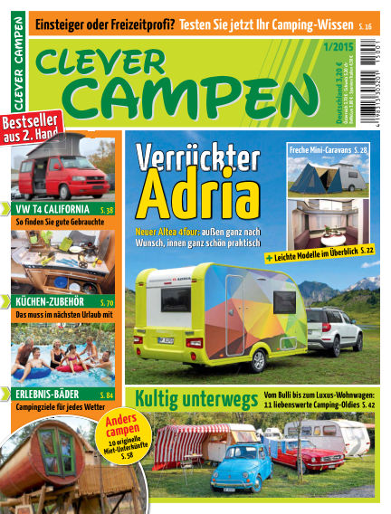 Clever Campen January 07, 2015 00:00